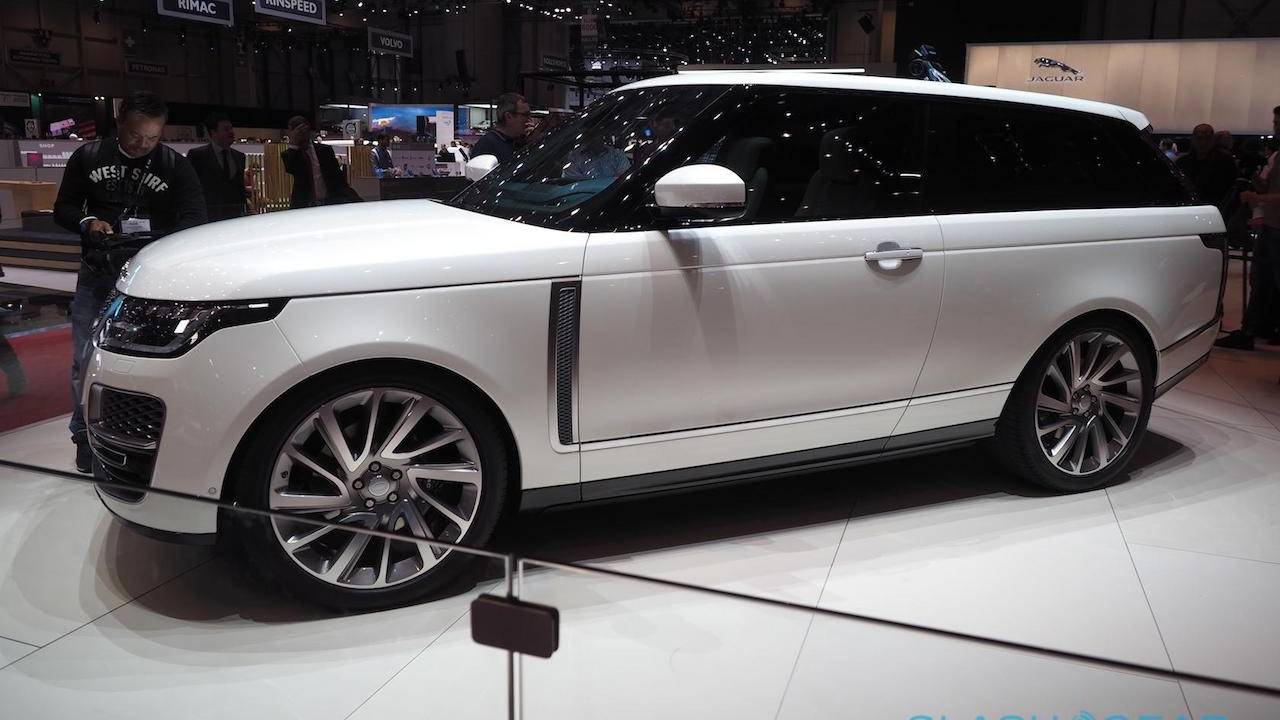 The most ostentatious Range Rover in years got some bad news