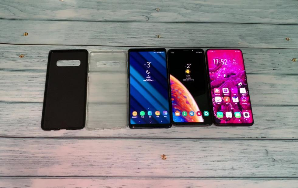 Galaxy S10+ case fits Galaxy S9+, OPPO Find X like a glove