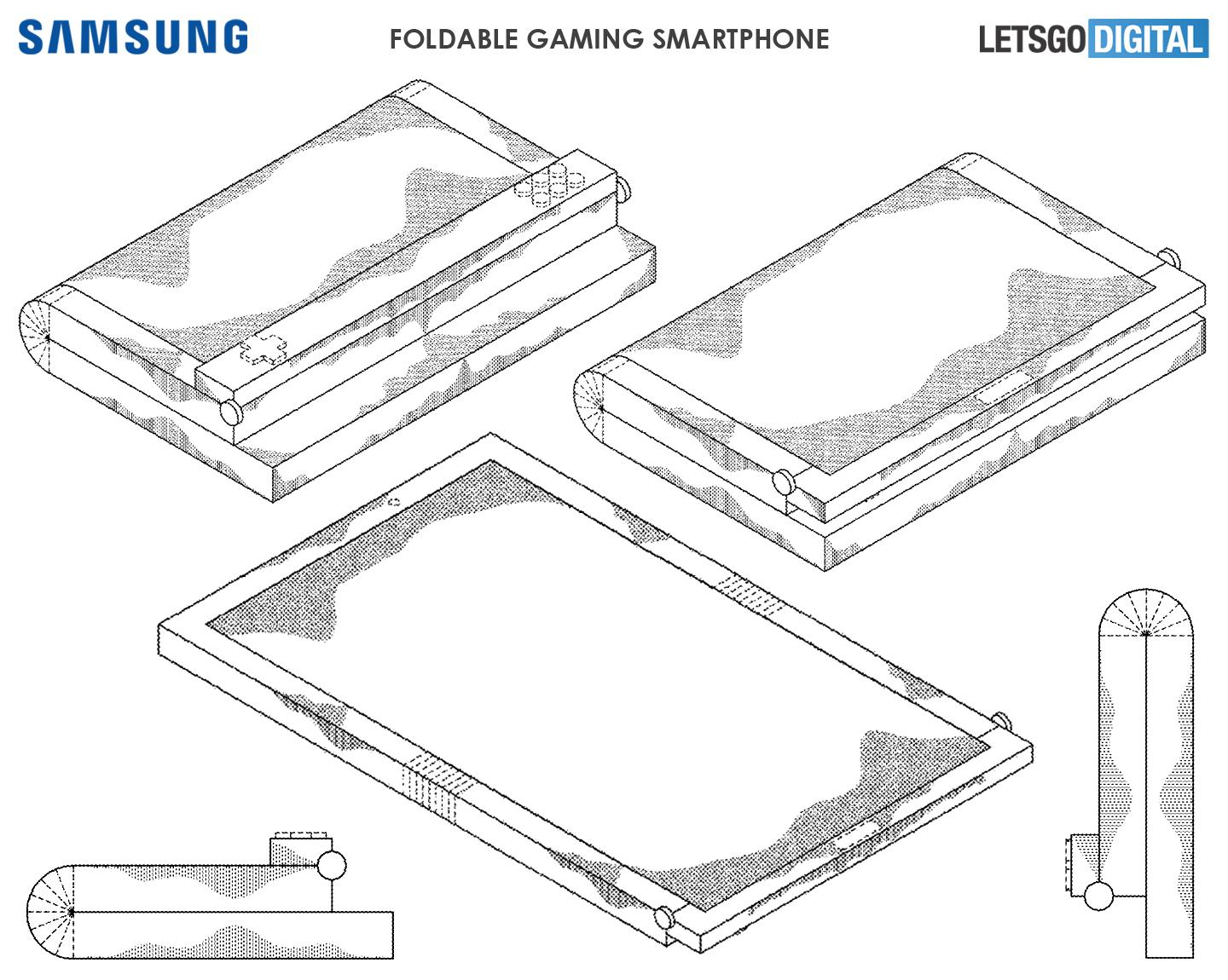 Samsung's foldable display smartphone shown off in a teaser video