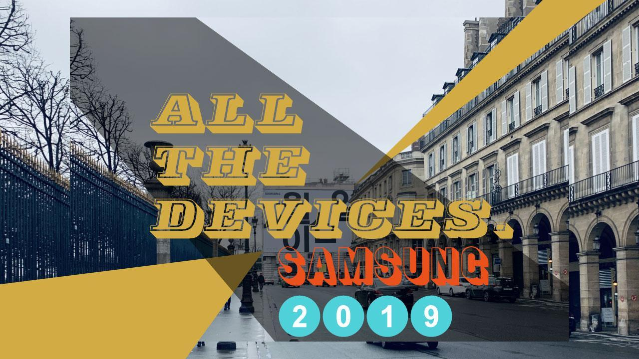 Galaxy S10 event: All the Samsung devices we expect