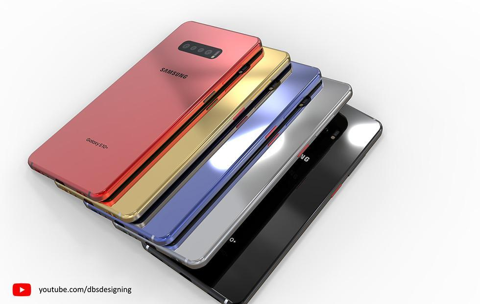 Galaxy S10 renders show Samsung's upcoming flagship in stunning detail