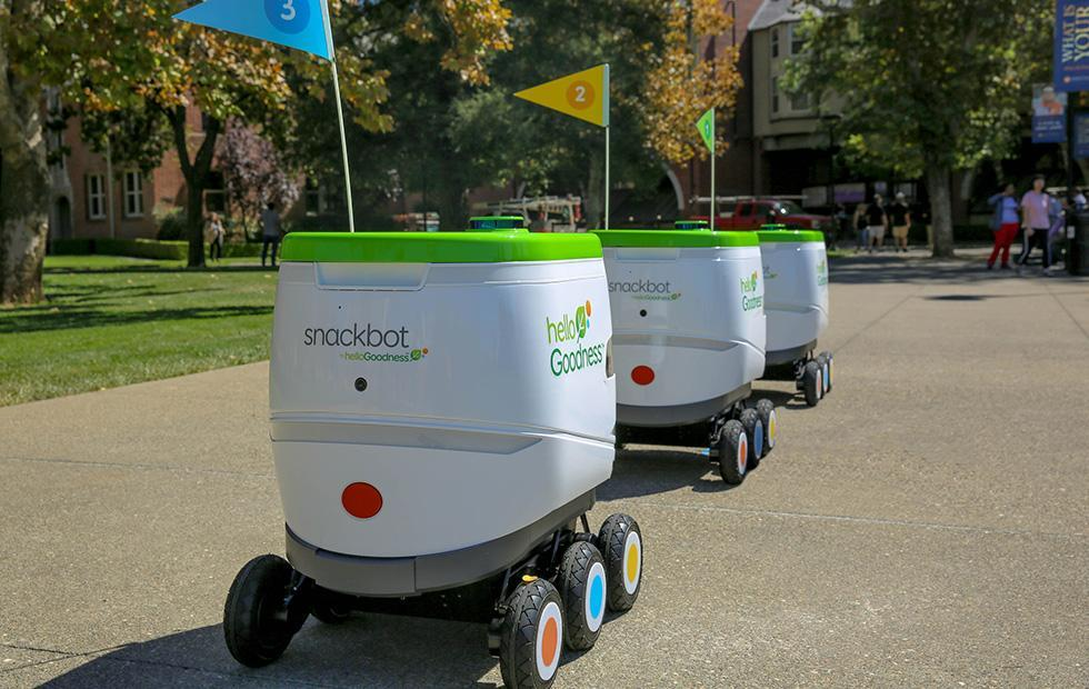 PepsiCo snackbots deploy to bring snacks to college students
