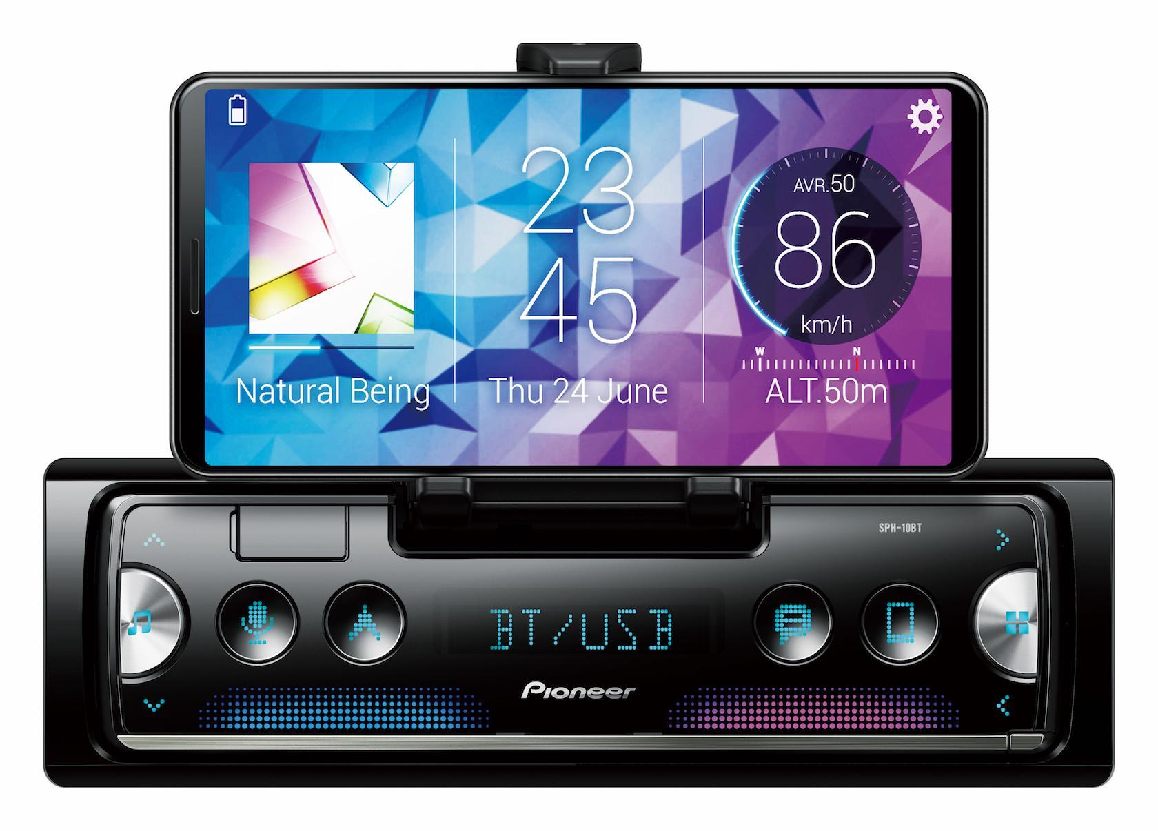 Pioneer makes your smartphone a clever dashboard touchscreen