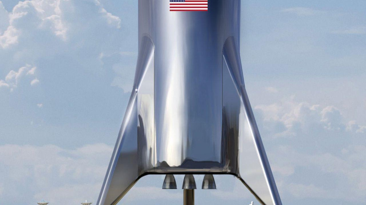 SpaceX Starship prototype nosecone topples in high Texas winds