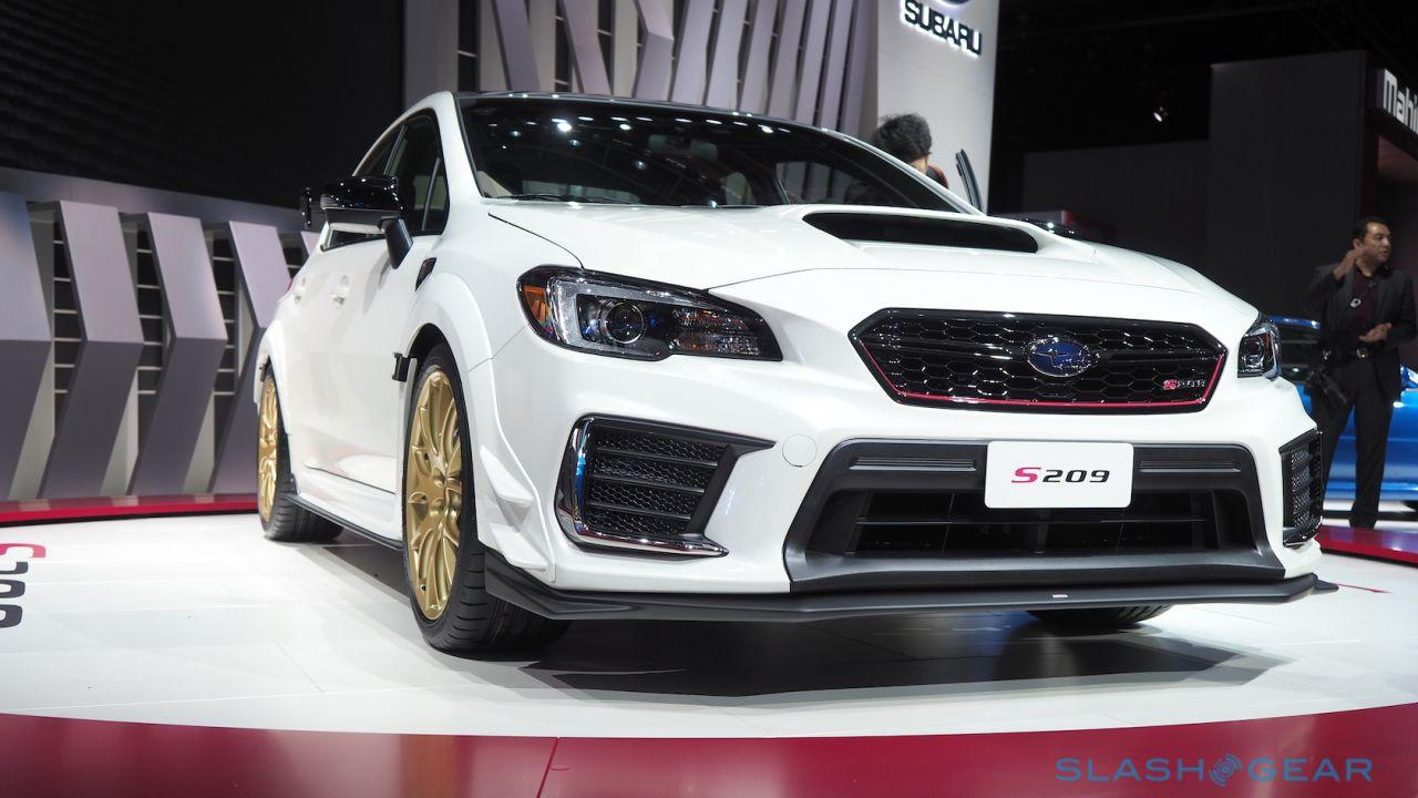 Subaru STI S209 sates US S-line hunger with 341hp of AWD joy
