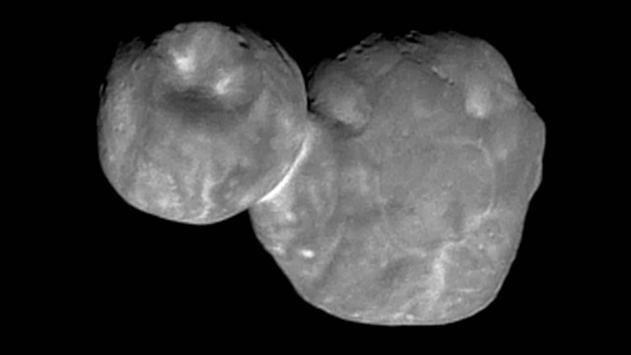 Latest NASA Ultima Thule image shows lots of detail