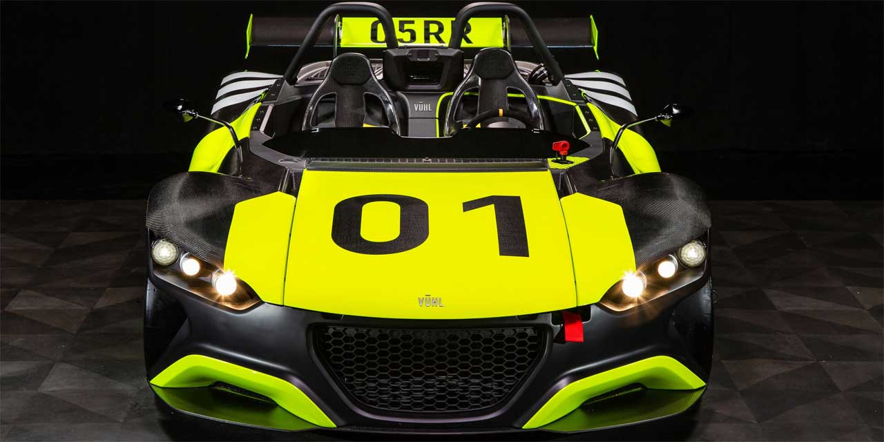 VUHL 055R track car is coming to America