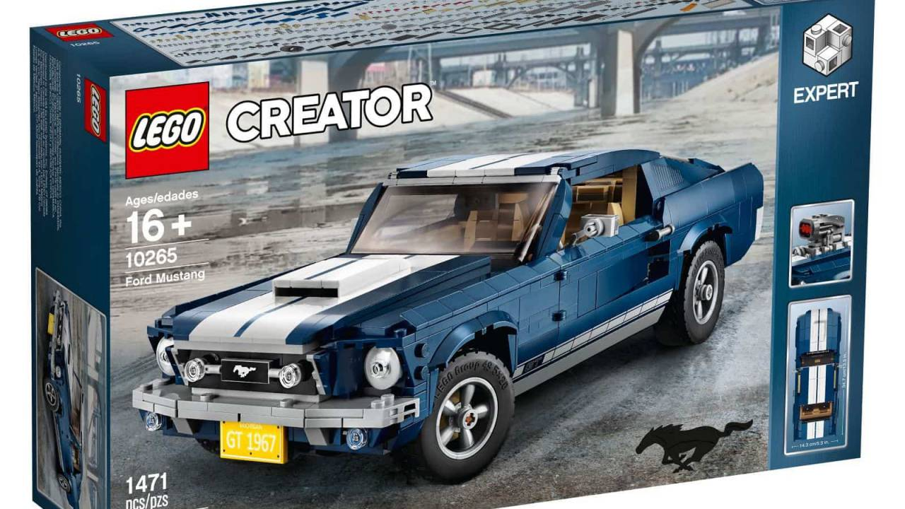 LEGO Ford Mustang is a 60s icon with mod potential