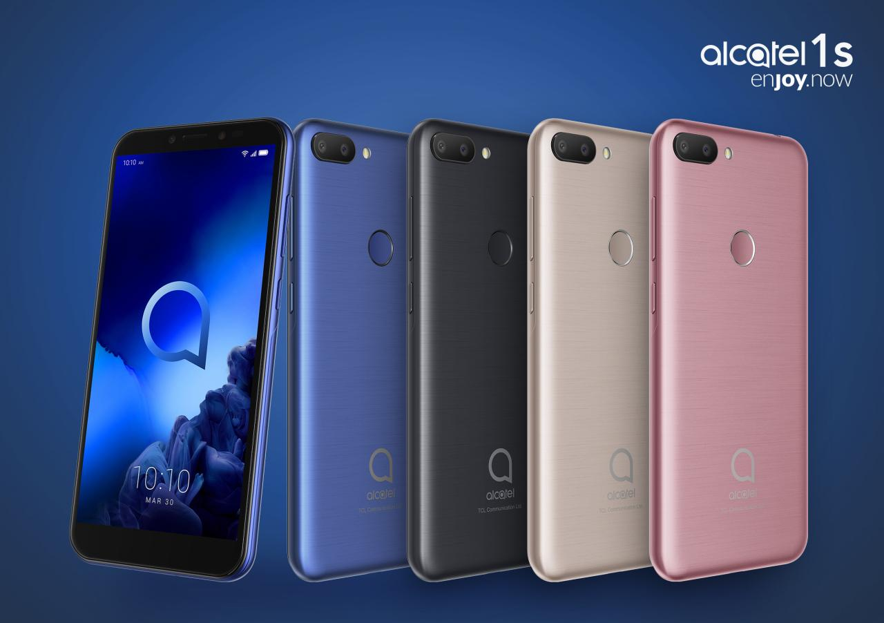 Alcatel 3, 3L, 1S phones, 3T 10 tablet target the non-5G budget
