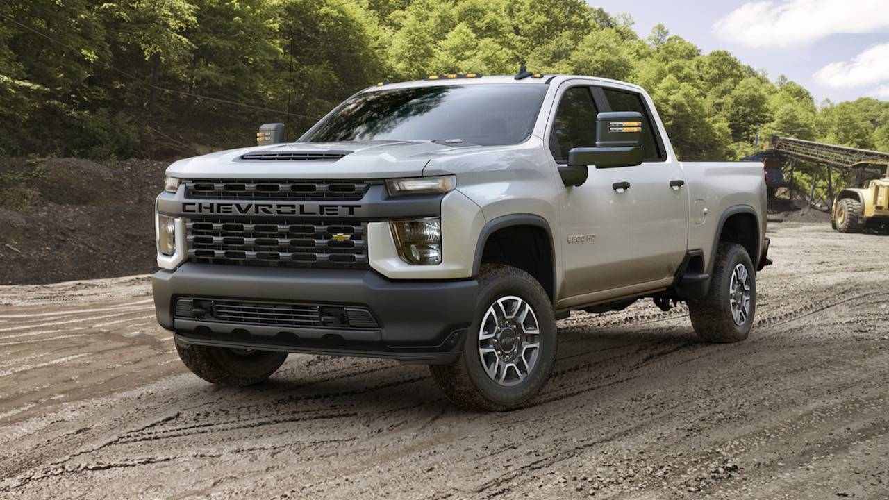 Silverado 2500 Towing Capacity >> 2020 Chevrolet Silverado Hd Is A 35 500 Pound Tow Monster