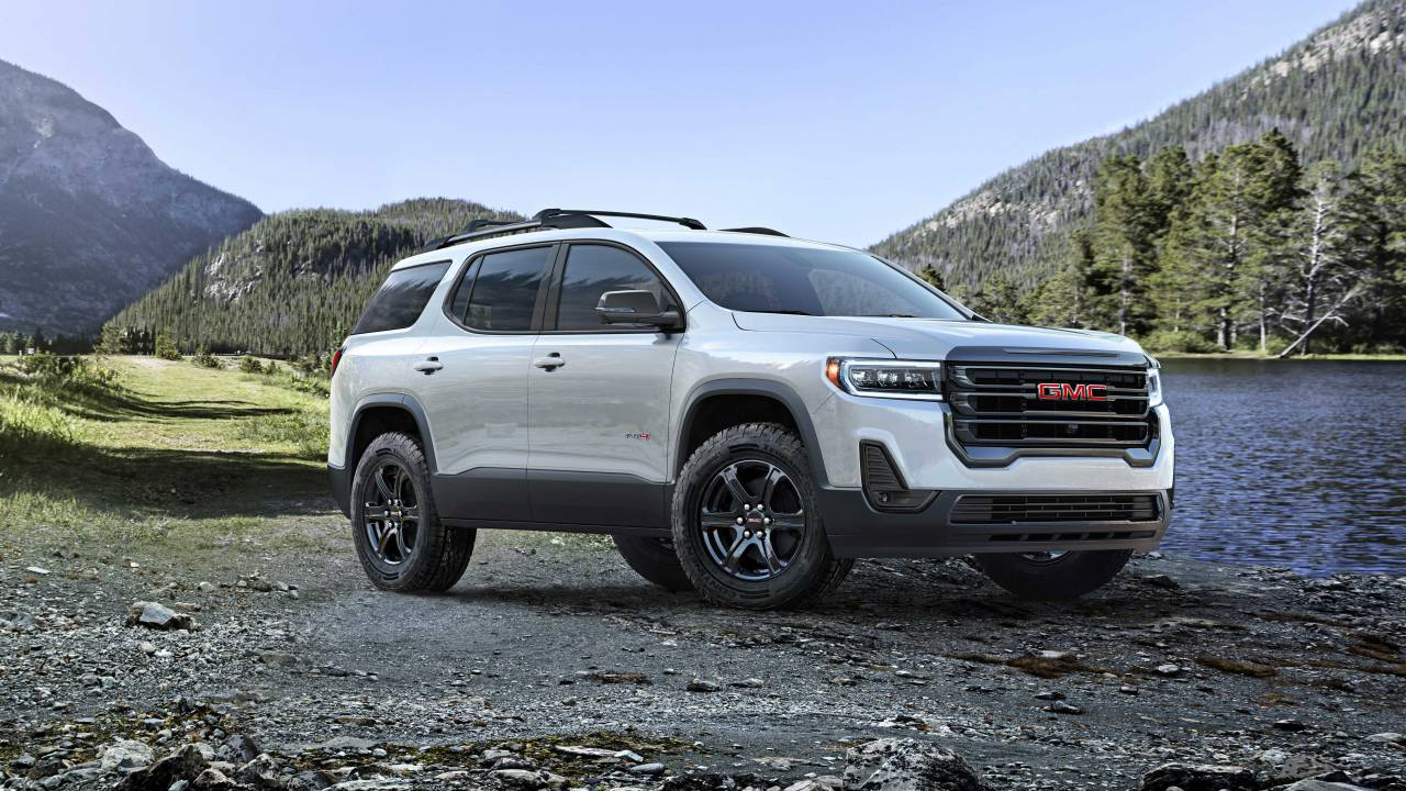 2020 GMC Acadia adds AT4 trim and lots of new enhancements