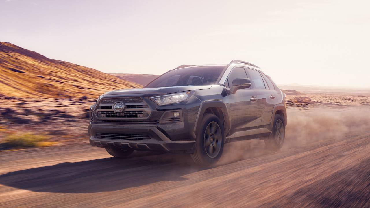 2020 Toyota Rav4 Trd Off Road Gives Compact Suv A Rally Makeover Slashgear