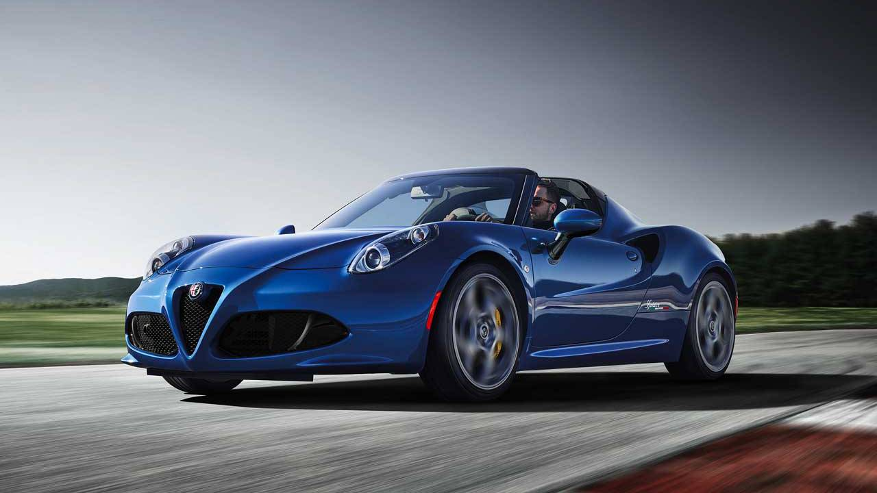 Alfa Romeo 4C Spider Italia is a 15-unit hyper-limited edition car