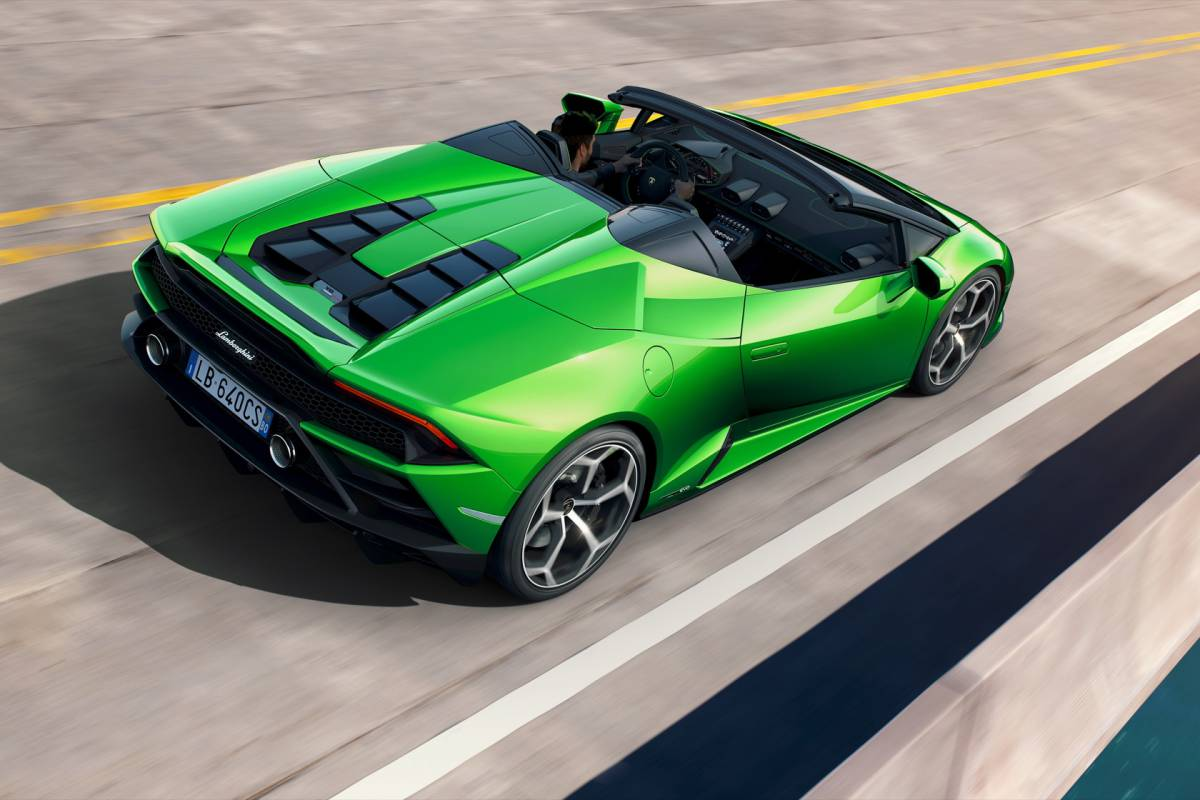 Lamborghini Huracan Evo Spyder Loses Roof But Not The 640hp V10