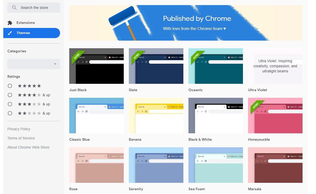 Chrome's latest themes come straight from Google - SlashGear