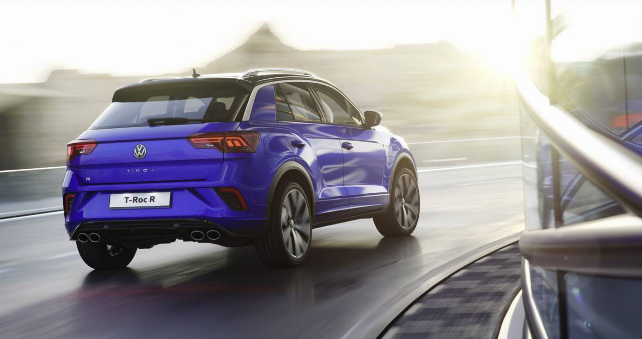 VW T-Roc R gives sports crossover 296hp to play with - SlashGear
