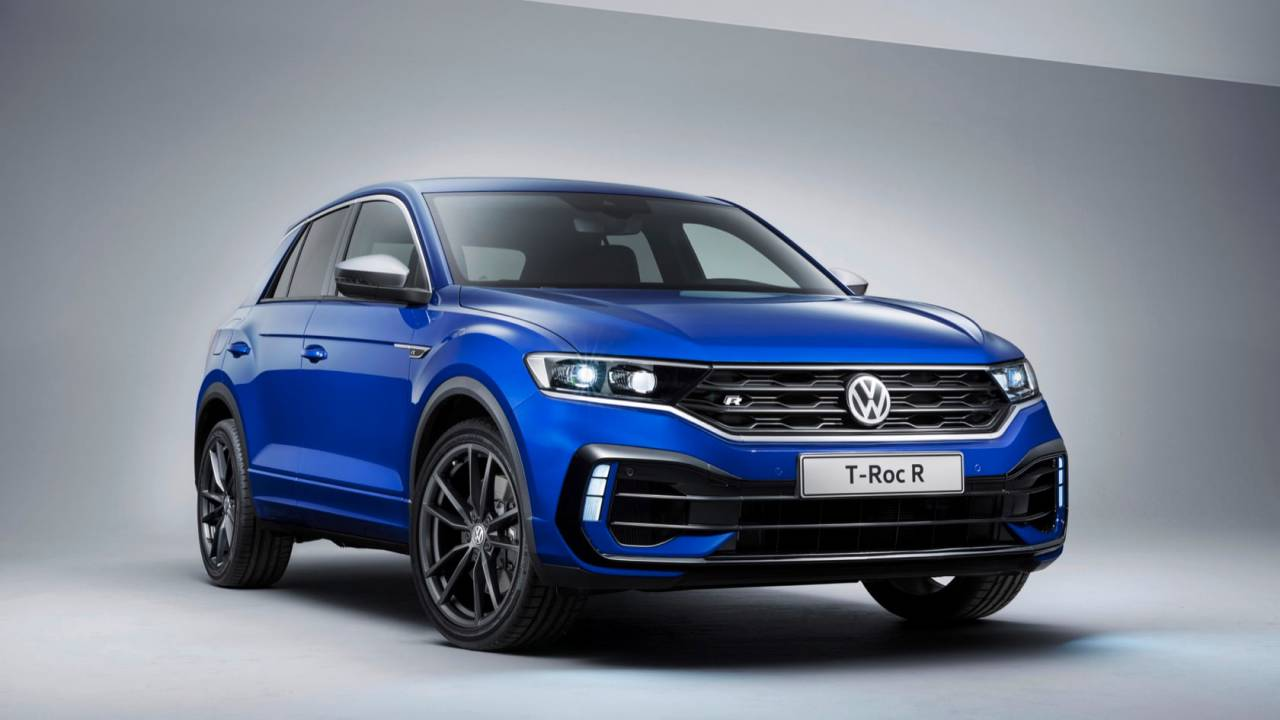VW T-Roc R gives sports crossover 296hp to play with