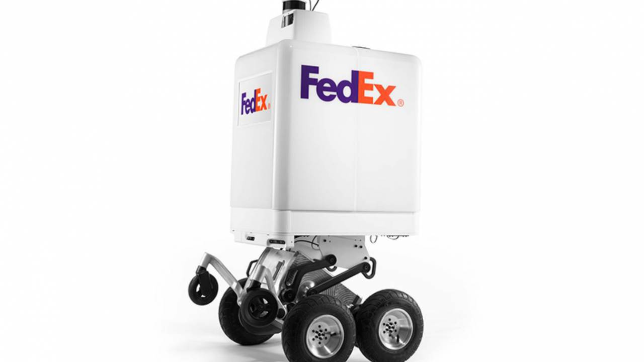 FedEx created this autonomous robot for local deliveries