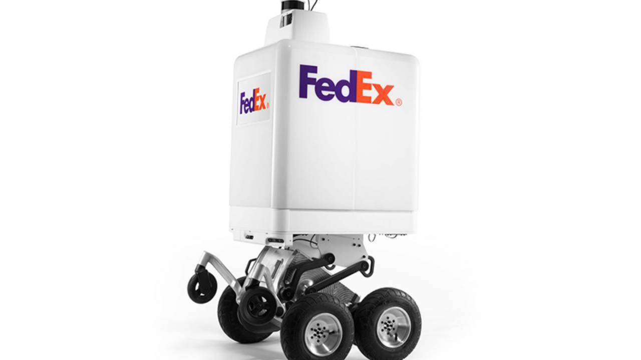 FedEx created this autonomous robot for local deliveries