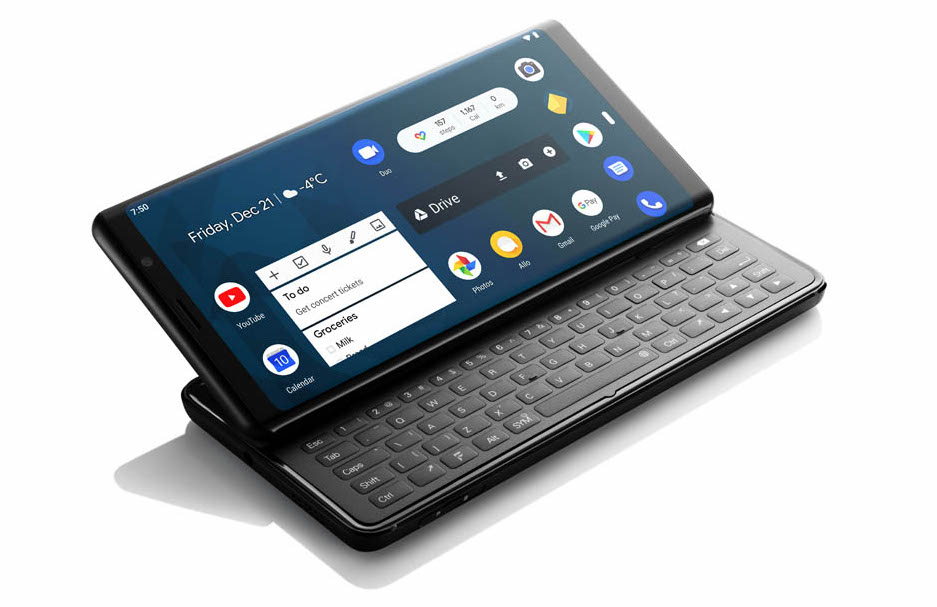 F(x)tec Pro 1 gives Android a tempting QWERTY keyboard - SlashGear