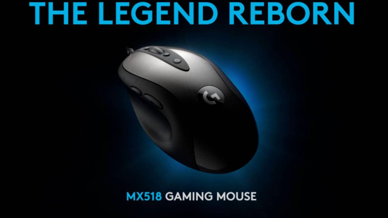 Logitech G MX518 gaming mouse makes old mice look dumb