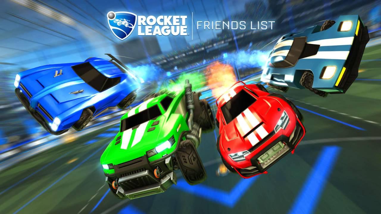 Rocket League's long-awaited Friends Update is releasing next week