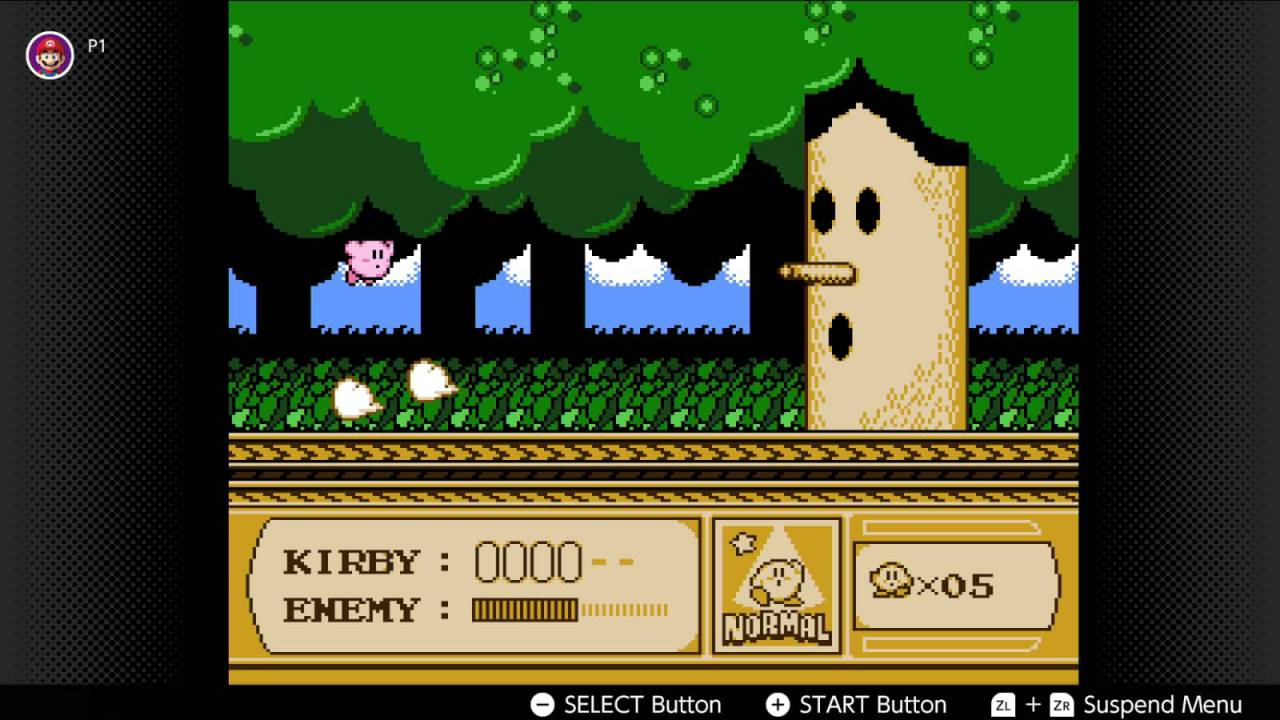 Mario, Kirby NES games joining Switch Online this month