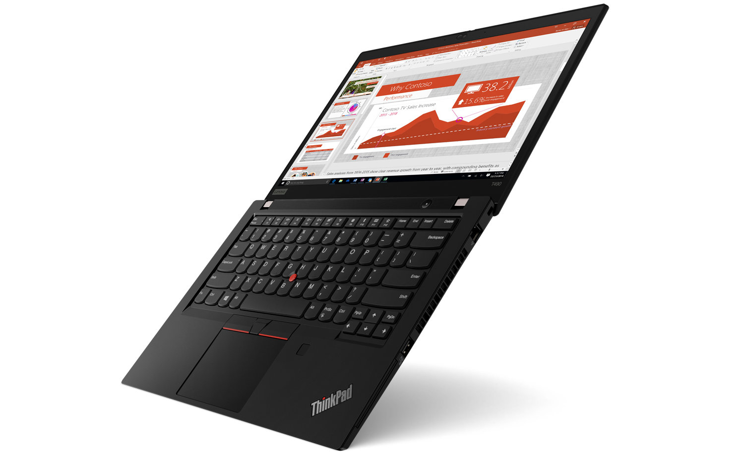 Lenovo ThinkPad T490 is a compromise between power and portability