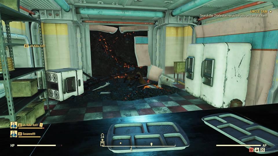 Fallout 76 glitch drops players into unreleased Vault 63 - SlashGear