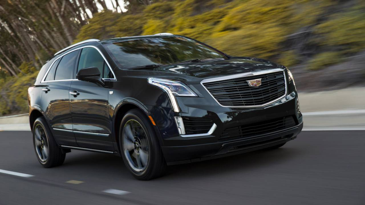 2019 Cadillac XT5 Sport Edition gives luxe SUV darker style