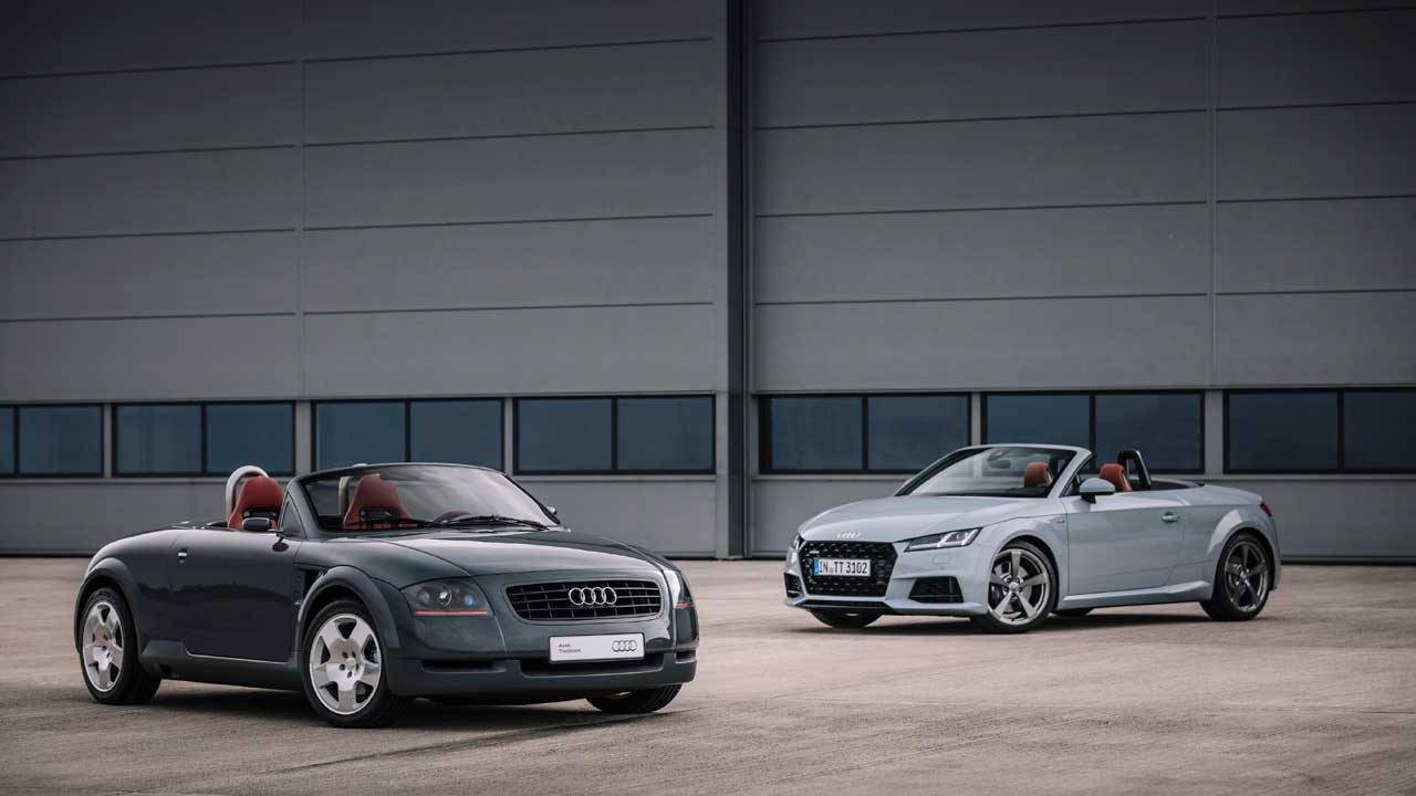 2020 Audi TT 20th Anniversary Edition gets all dressed up to celebrate two decades