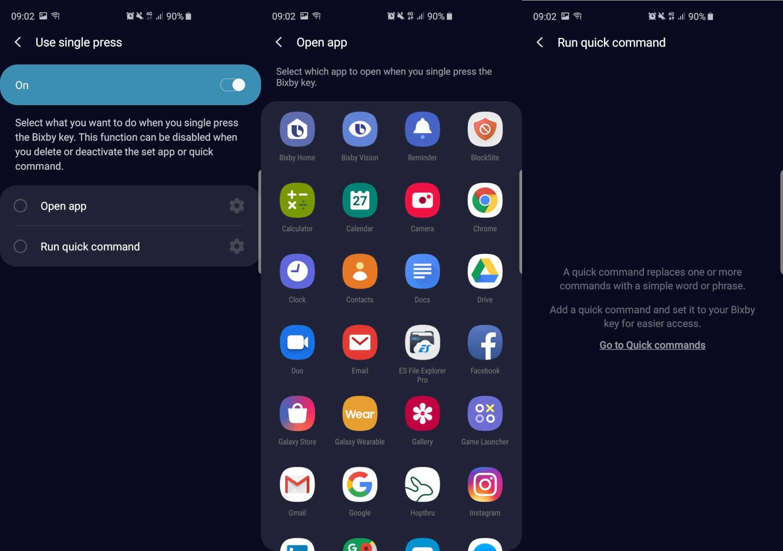 Galaxy S10 update brings Bixby button remap, Instagram Mode