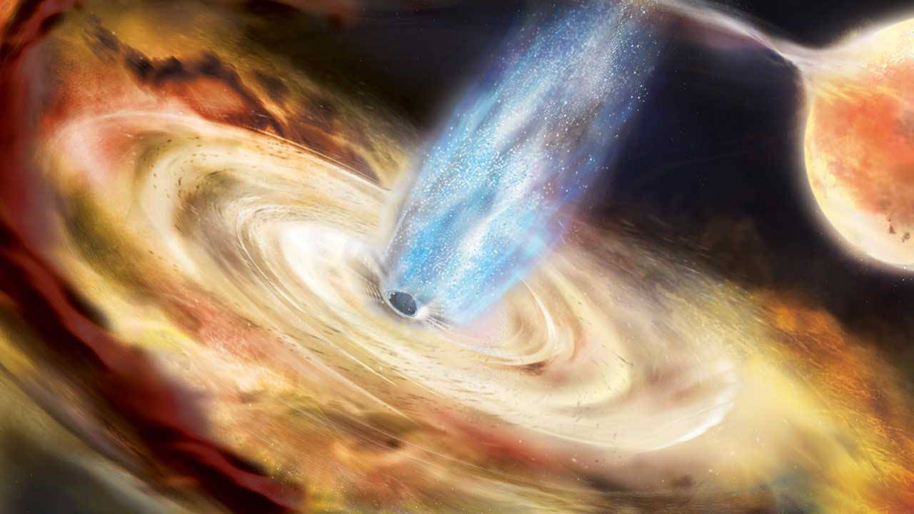 NASA NICER mission probes newly discovered black hole