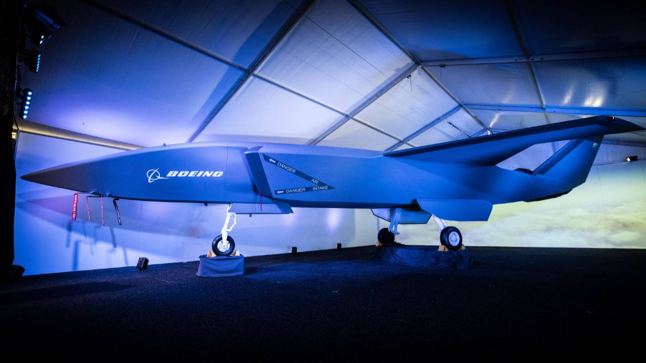 Boeing Loyal Wingman combat drone is made to support fighter jets