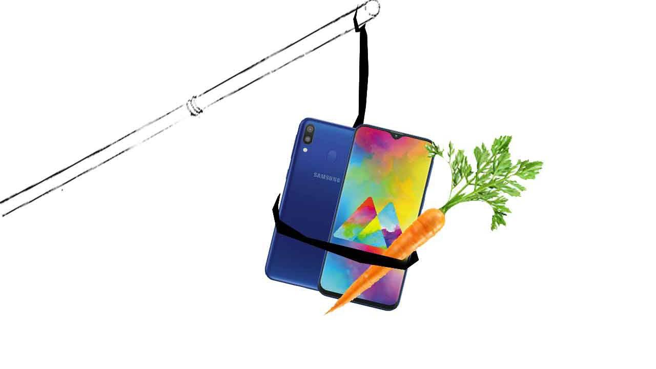 Tracking Samsung M10's OnePlus FOMO