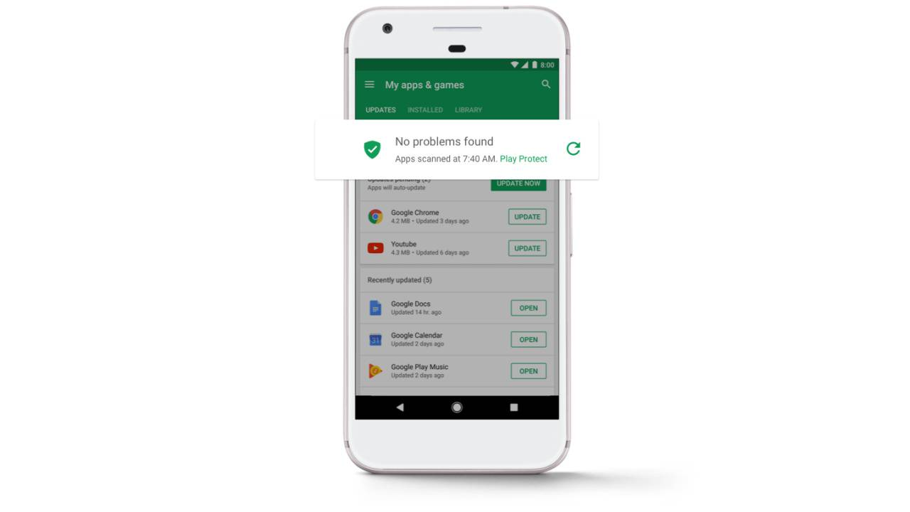 Google Play Store 2018 security report is hopeful - SlashGear