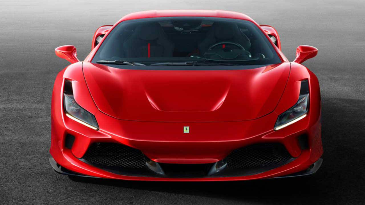 Ferrari F8 Tributo is an homage to the mighty V8
