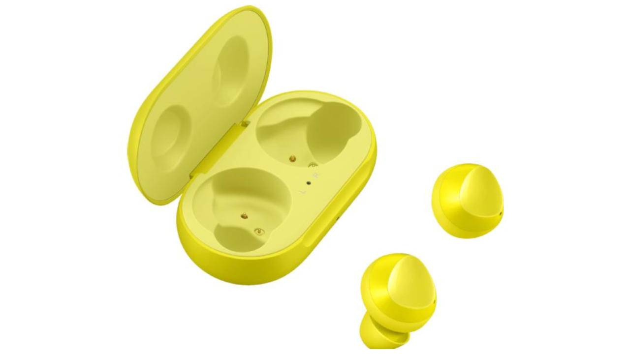 Galaxy Buds in Canary Yellow will match the Galaxy S10e