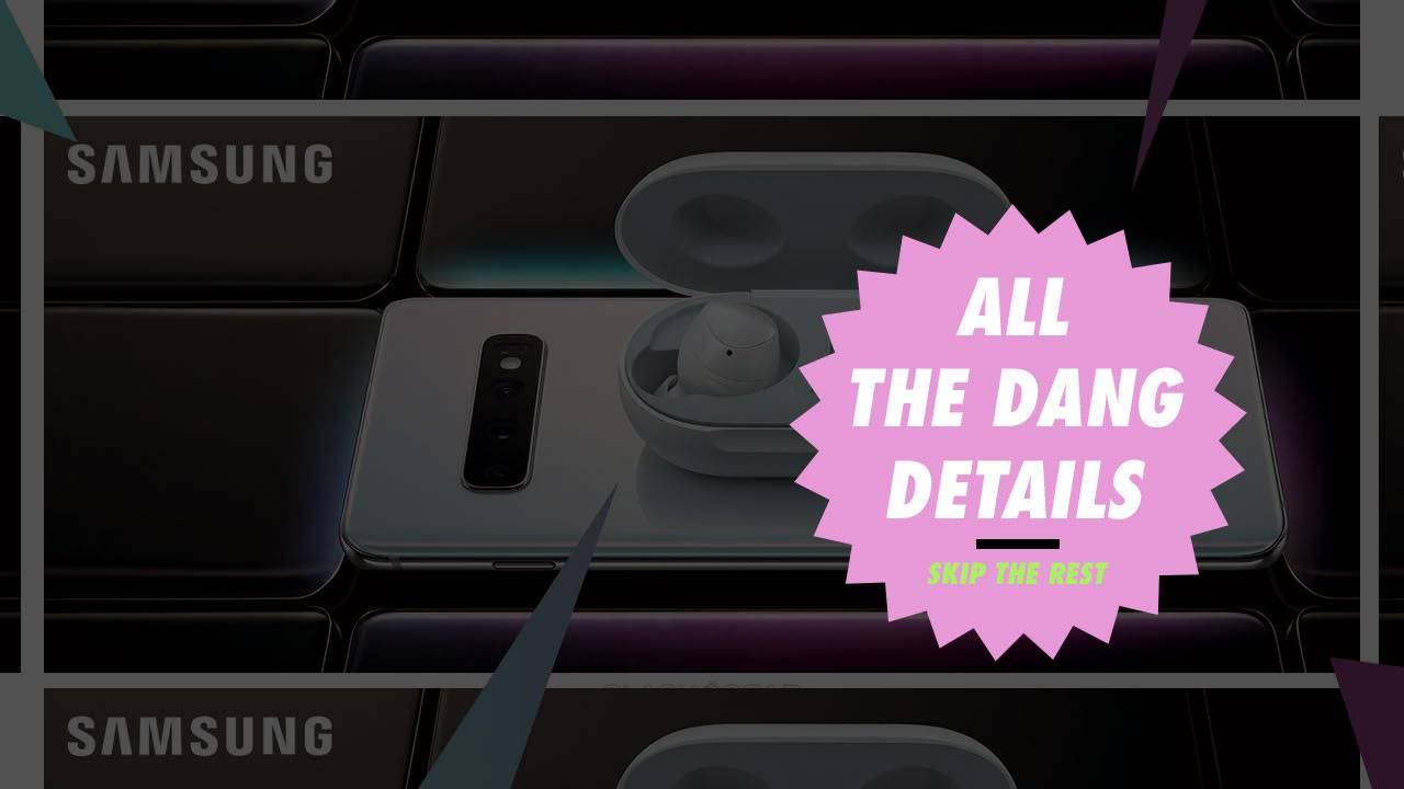 Pick your Galaxy S10 now: All the details, leaked and listed
