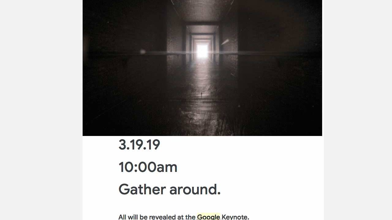 Google teases a mysterious GDC 2019 event