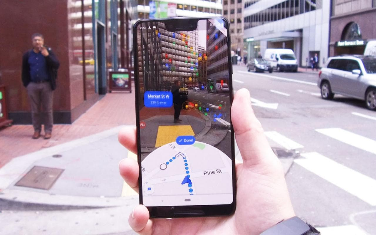 Google Maps Ar Mode Can Be More Precise More Useful Than Gps