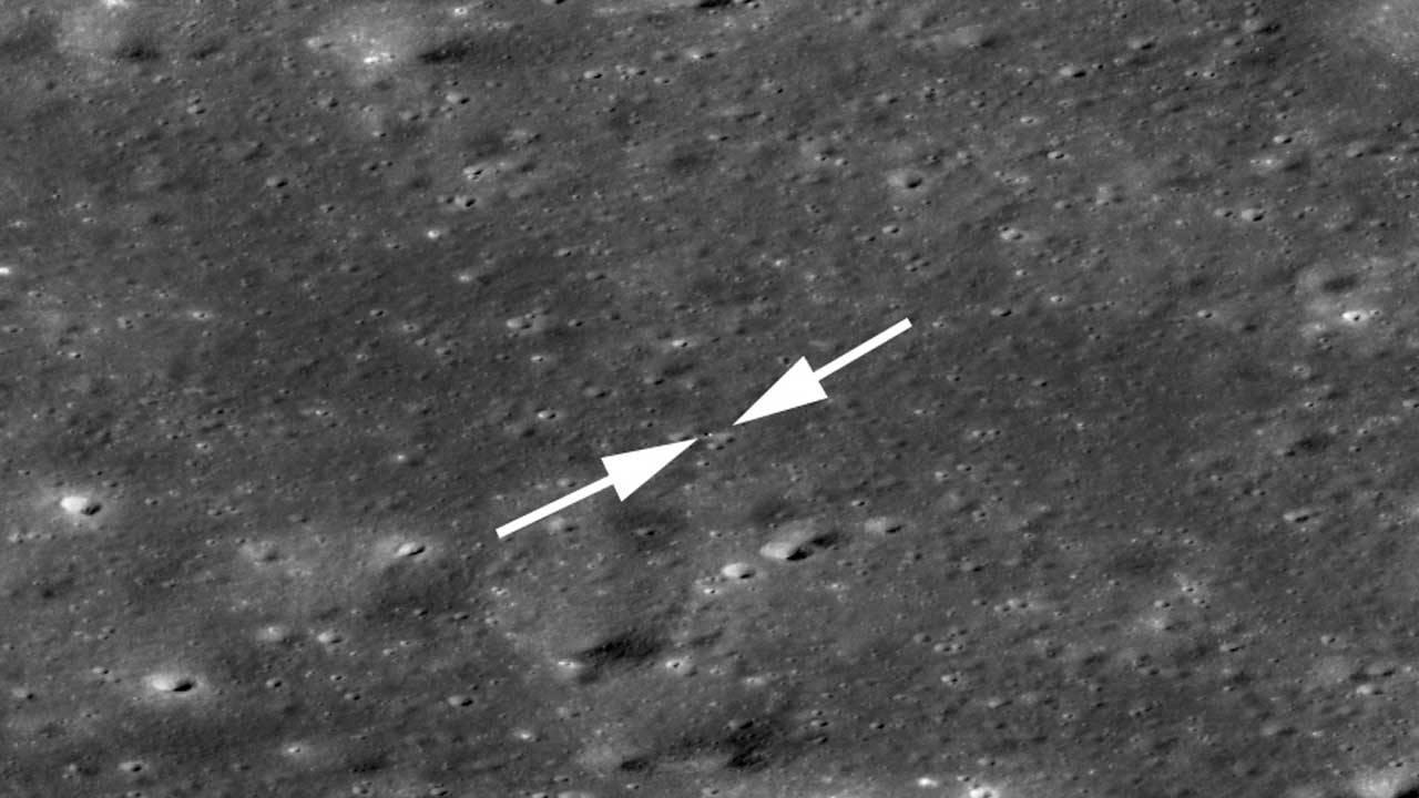 NASA's Lunar Reconnaissance Orbiter Camera snaps Chang'e 4 pics