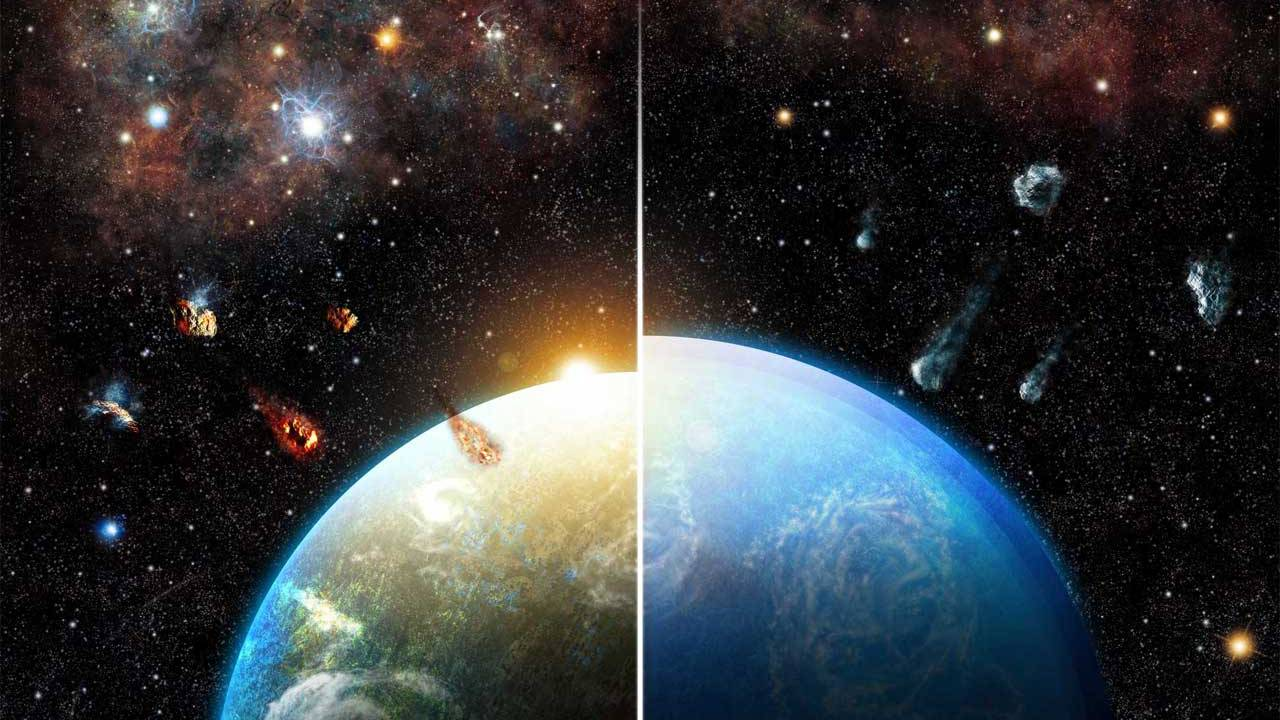 Earth as we know it is thanks to a massive star in the birth environment of our sun