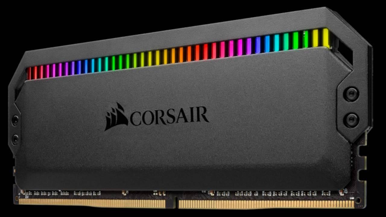 Corsair Dominator Platinum RGB RAM crams 12 LEDs in a single DDR4 stick