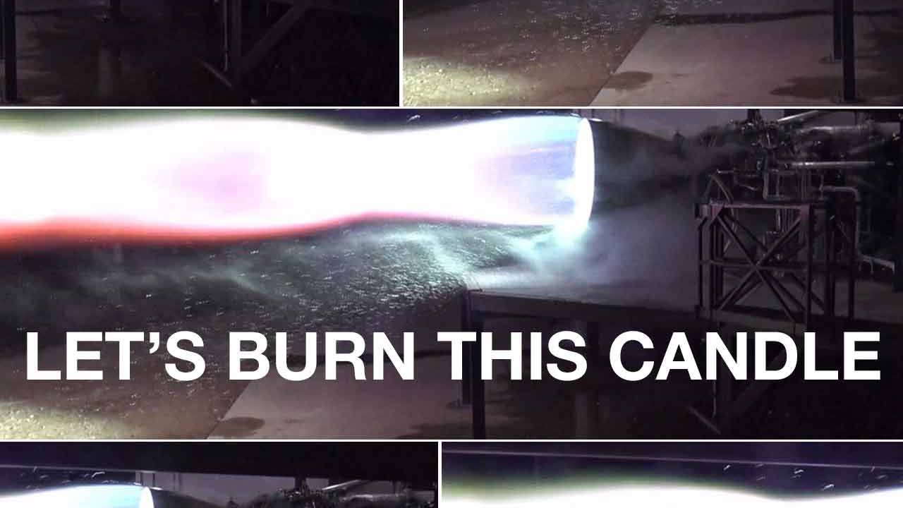 SpaceX just fired its Mars rocket engine and it didn't explode