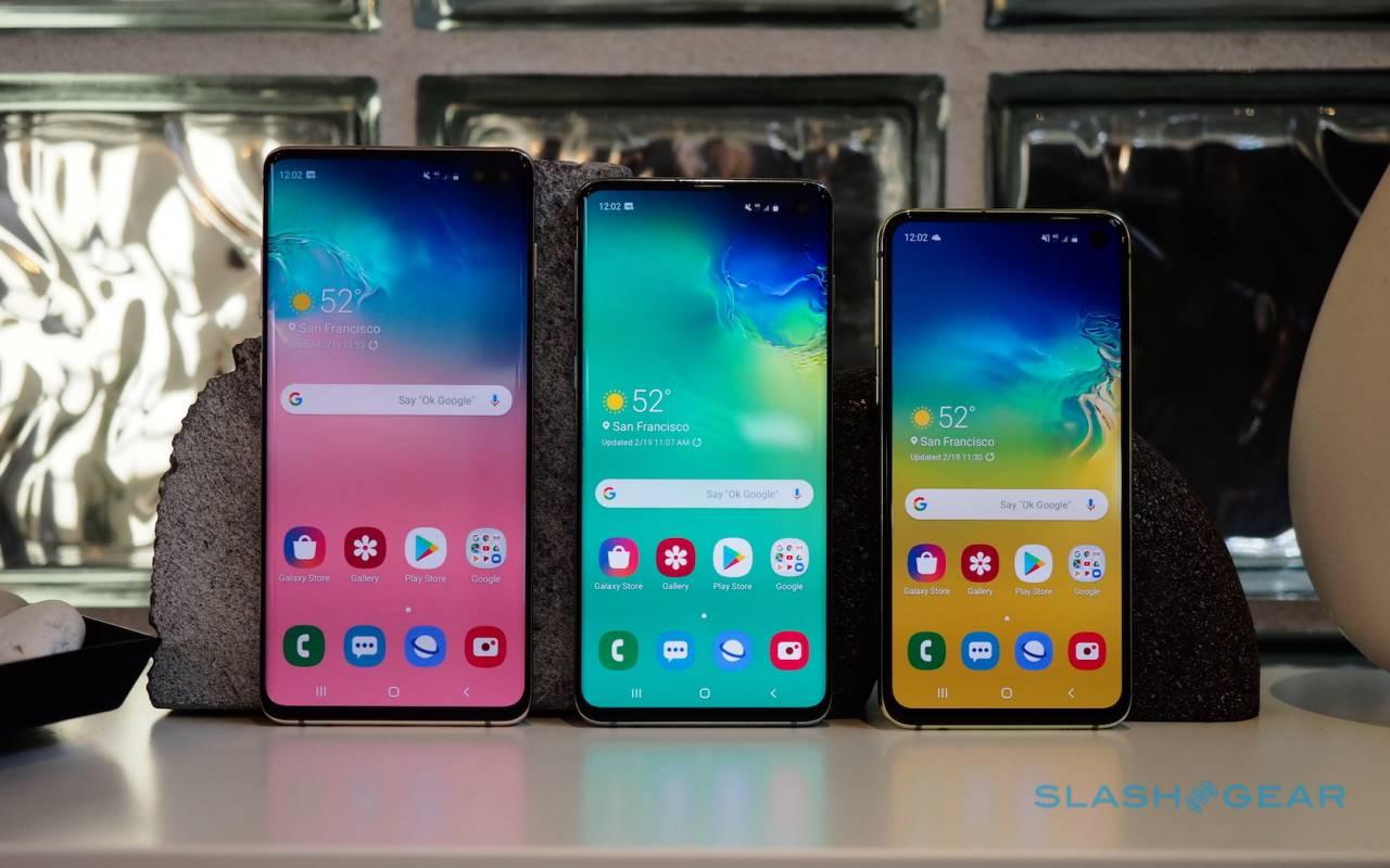 Samsung Galaxy S10 hands-on: Family of Four - SlashGear