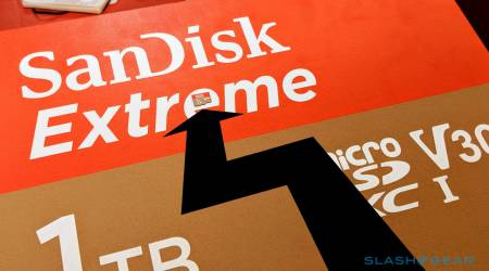 1TB SanDisk Extreme is a beastly microSD card with a monster price