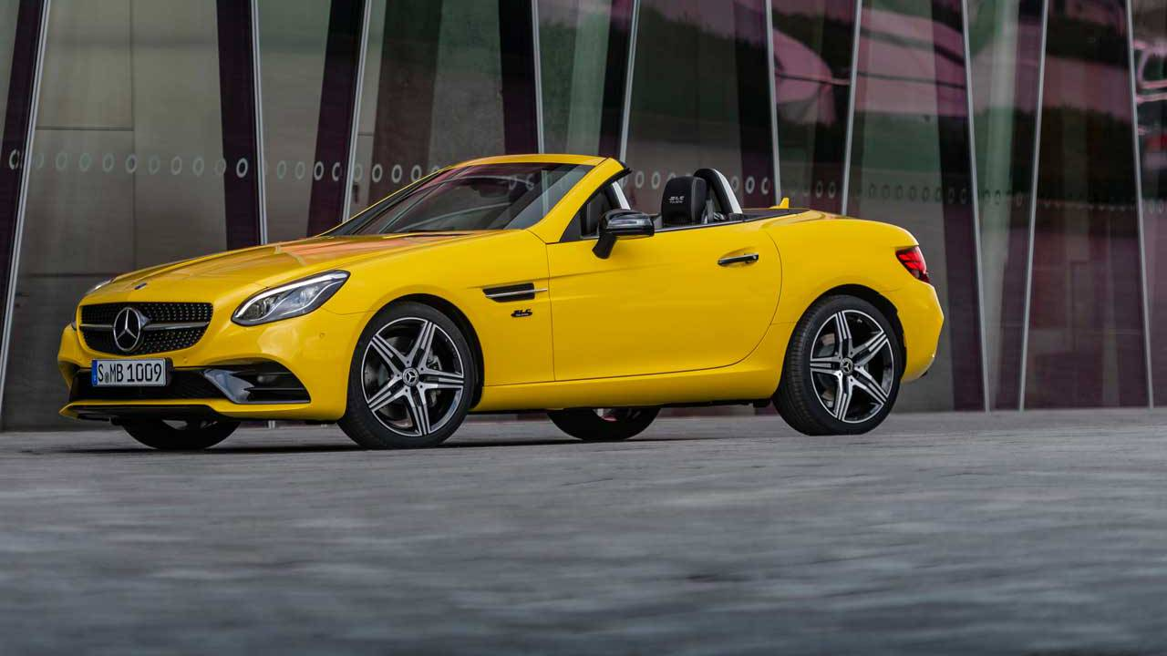 Mercedes-Benz SLC Final Editions bid a fond farewell to the SLC