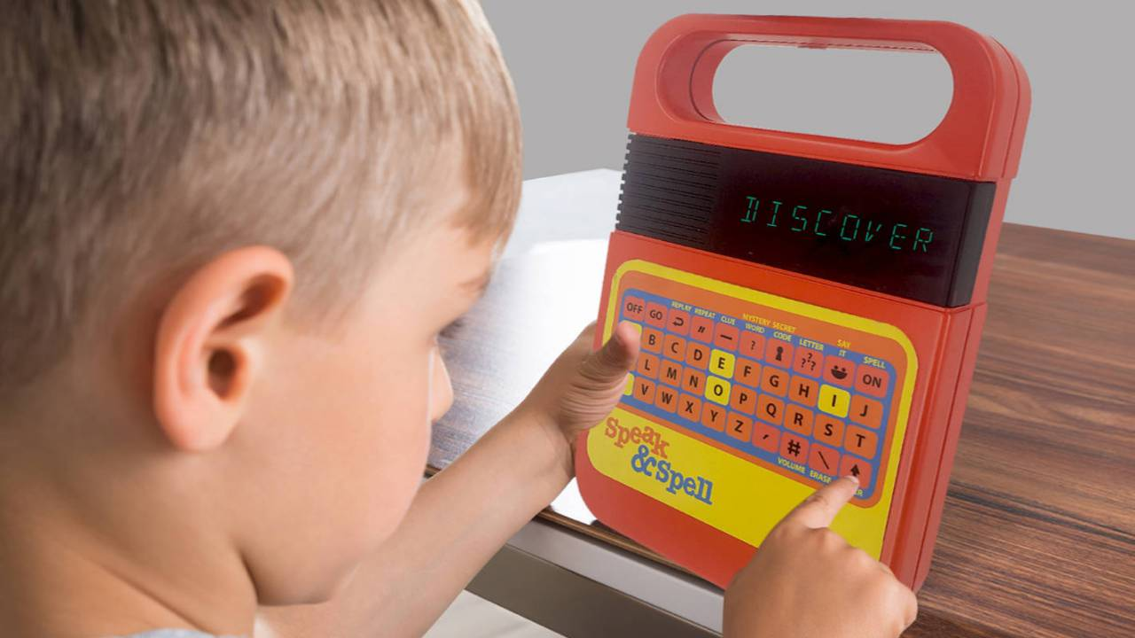 Retro Speak & Spell toy with updated voice will launch later this year