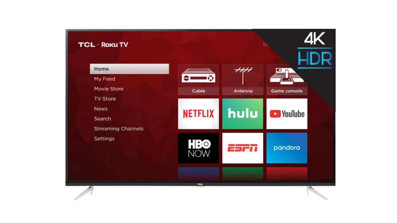 TCL's massive 75″ 4-Series 4K HDR Roku TV drops to $999 (for now)